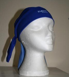 Bandana kerékpáros fejvédő - kék