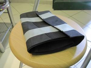 Tépőzáras, fényvisszaverős nadrágszárvédő
