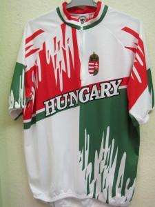Hungary, rövid ujjú, nemzeti színű mez